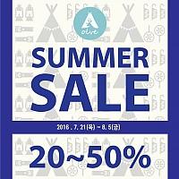 SUMMER SALE 20~50%
